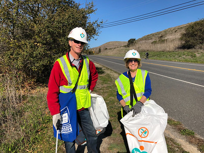 2018-02-17 Adopt-a-Highway Clean-up