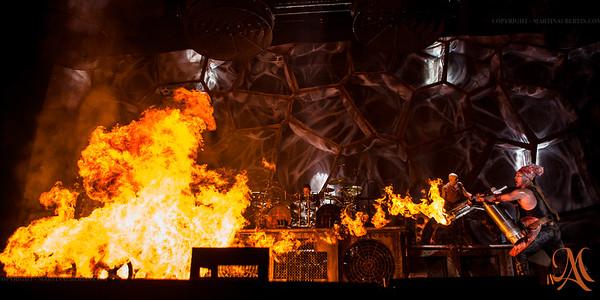 Rammstein @ Bell Center - May 1st, 2012