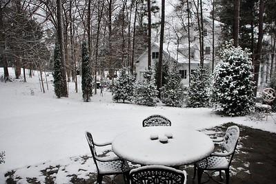 Snow in Chapel Hill 2009
