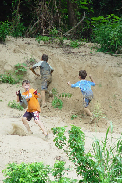 Dirt is good! :)