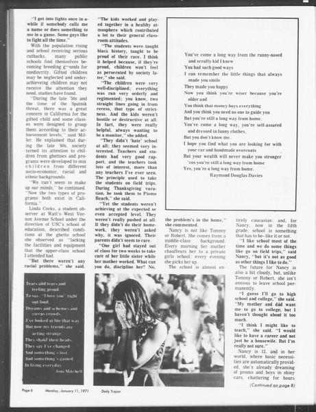 SoCal, Vol. 62, No. 61, January 11, 1971