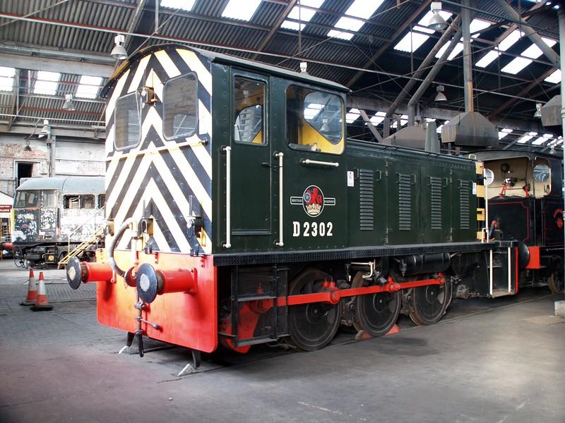 Class 04 D2302 seen at Barrow Hill    22/11/08