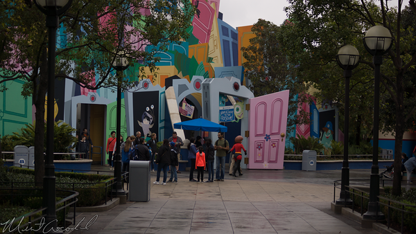 Disneyland Resort, Disney California Adventure, Hollywood Land, Monster's Inc