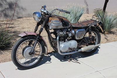 1962 Triumph T120 Bonneville original