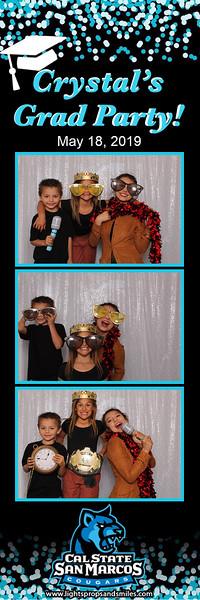 Crystal's Grad Party