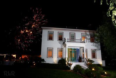 Bybee Historic Inn Fireworks