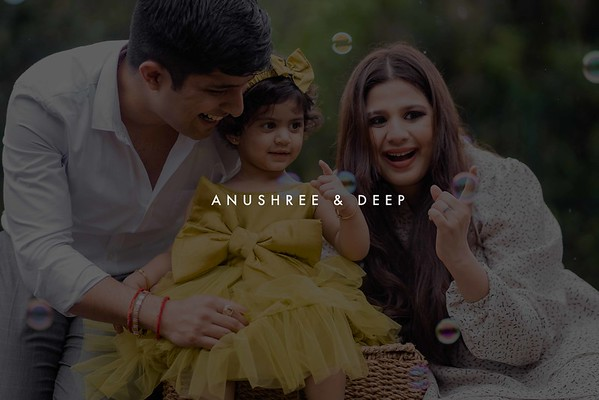 Anushree & Deep | Family Portrait Session