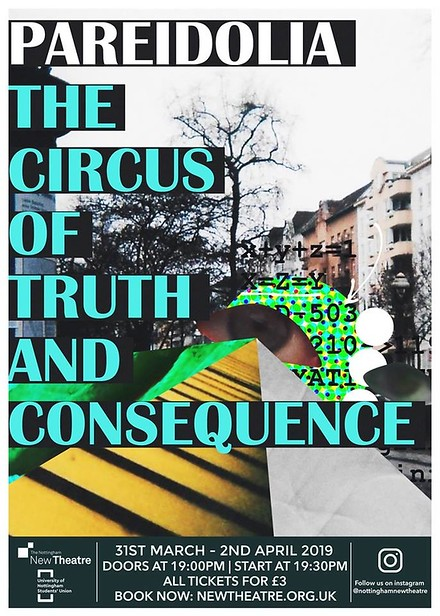 Pareidolia: The Circus of Truth and Consequence poster