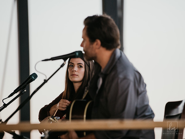 July 29, 2020 - Brandi Sidoryk of Nice Horse and Rob Angus of the Dungarees at the Track On 2