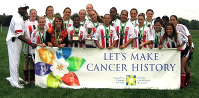 2005 Kicks For Cancer CHAMPIONS - BAS FIREBALL