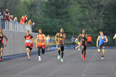 200 Meter Finals - 2012 T&F Regional at Brandon