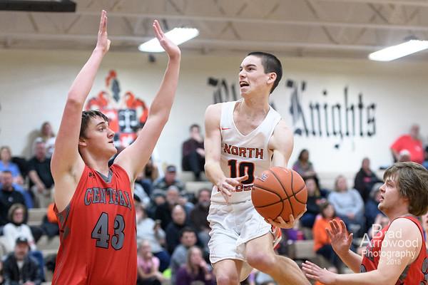 NDHS Basketball vs Central Davidson 2018