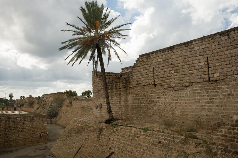 Roman Wall Around Old Caesarea