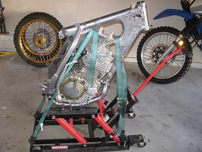 XR400 rebuild