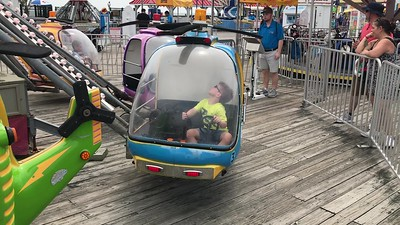 Point Pleasant with Liam 8-2018