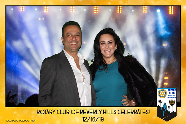 Rotary Club of Beverly Hills Holiday Party 2019