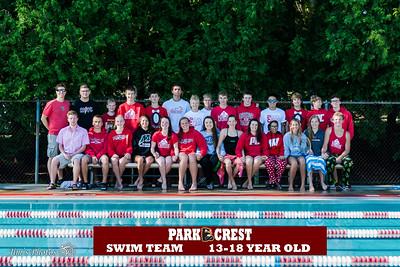 Swim - Parkcrest Swim & Dive [d] 2015 Team Photos