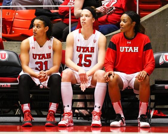 U of U Women's Basketball vs UCLA • 03-02-2014
