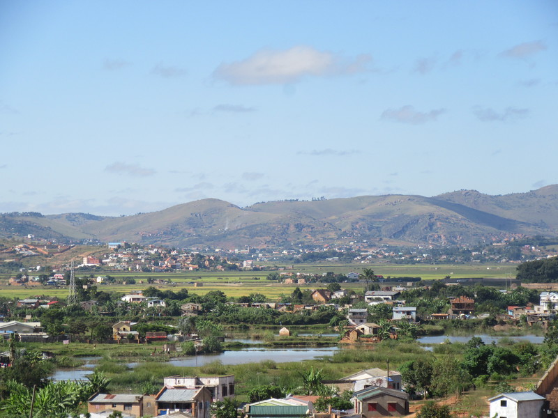 039_Antananarivo. Rice paddies are tended right up to the edge of the city.JPG