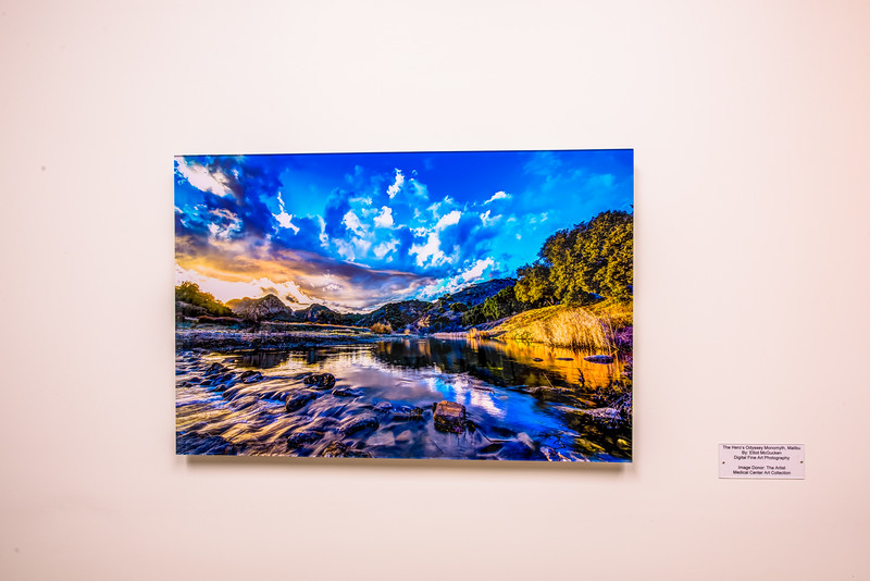 Dr. Elliot McGucken's Fine Art Photography on Walls & in Galleries!