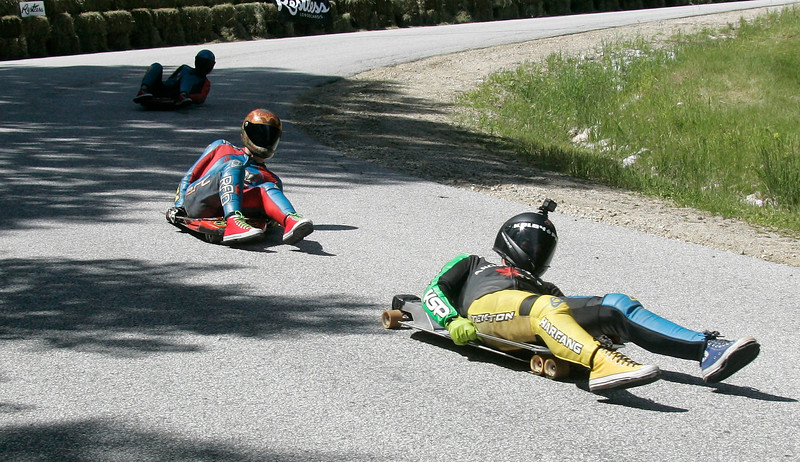 Downhill Throwdown, Streetluge