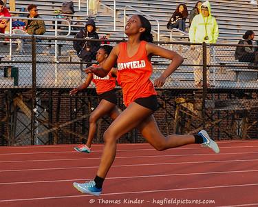 Girls Outdoor Track & Field 4/11/18