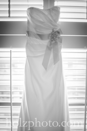 Jessica and Justin B/W Wedding Photos
