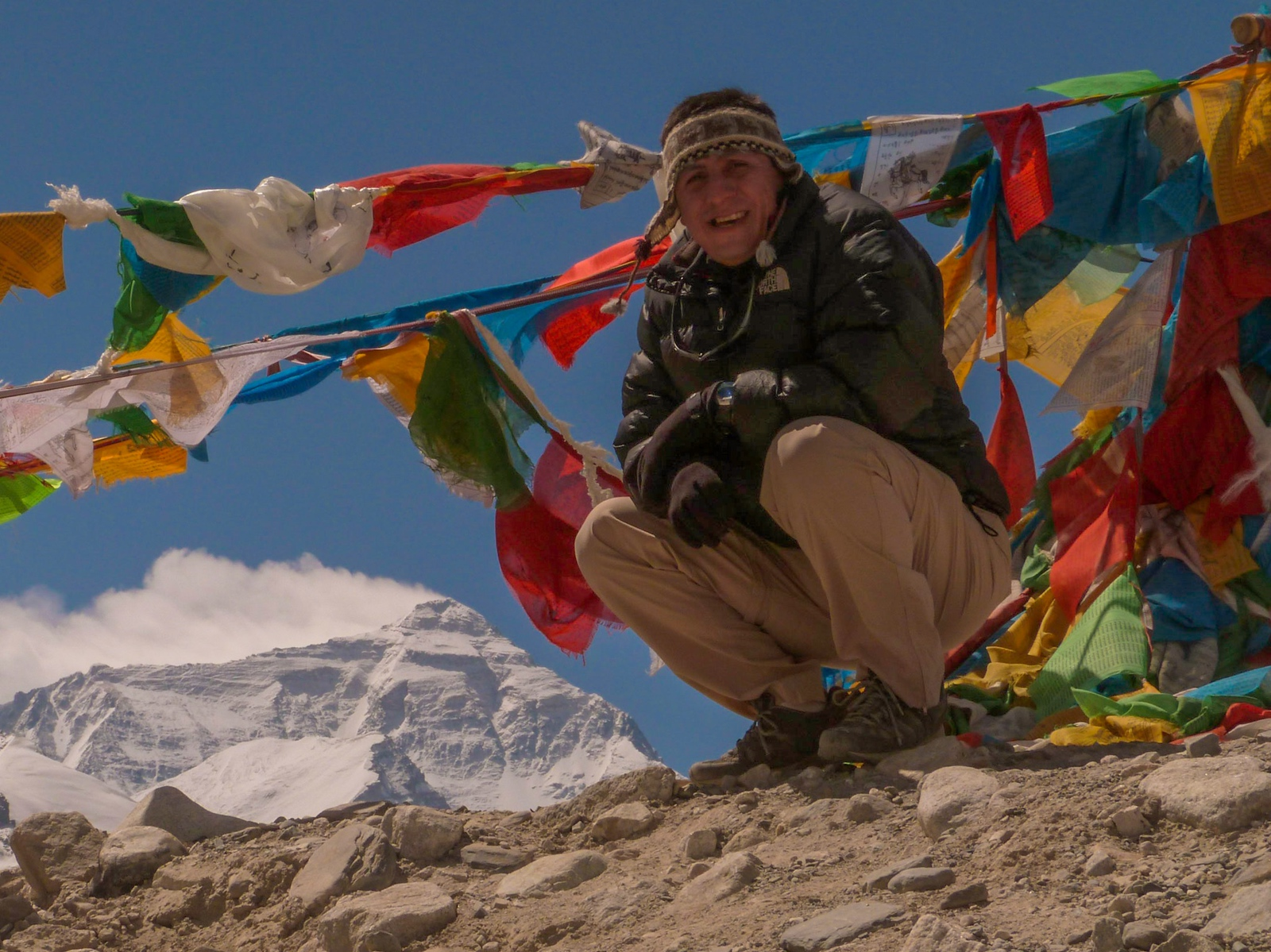 Rongbuk Base Camp for Everest - Tibet