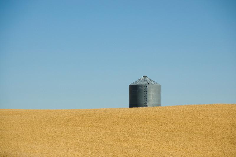 Water tank in Theodore Roosevelt National Park, North Dakota