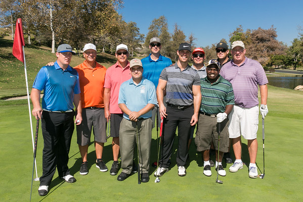 Special Olympics OC 2014 Columbus Day Golf Event - Golfers and Activities