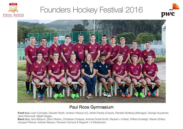 Founders Hockey Festival 2016