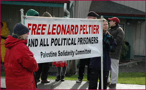 Leonard Peltier Solidarity March & Rally, February 2006