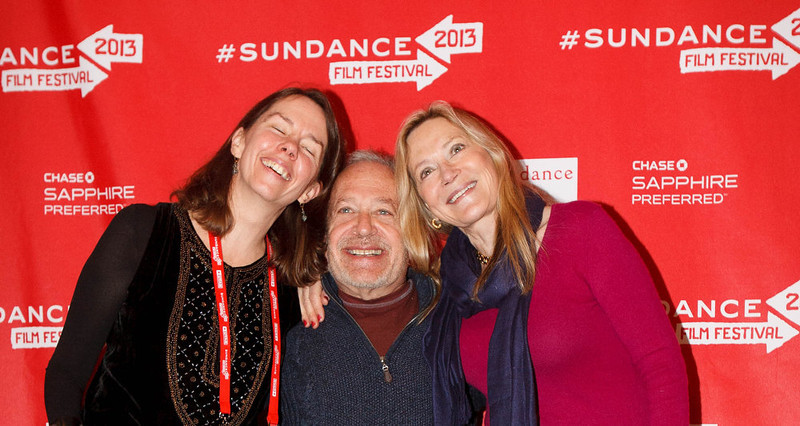 . Trent Nelson  |  The Salt Lake Tribune Robert Reich, former US Labor Secretary, with his wife Perian Flaherty, left, and friend Carina Ryan, at the Sundance Film Festival premiere of the film Inequality For All, Saturday, January 19, 2013 in Park City.