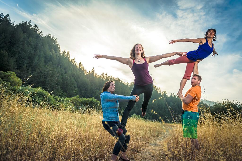 Acro-yoga Campout