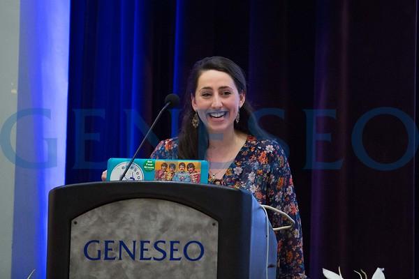 Sophia Garber '17 All College Hour Speaker