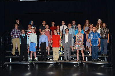 2016 Fisher Fifth Grade Moving Up Ceremony photos by Gary Baker