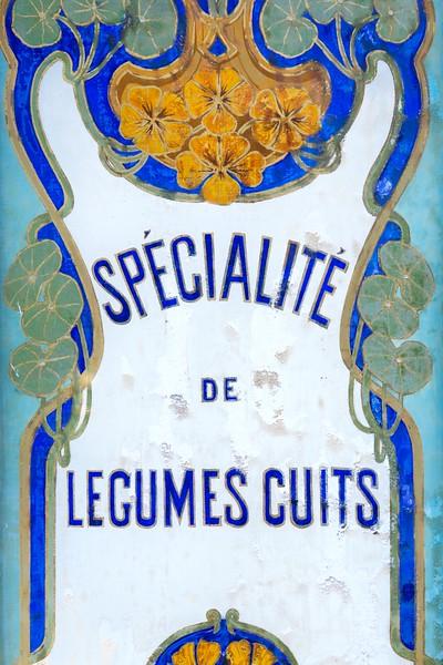 Paris Shop Sign
