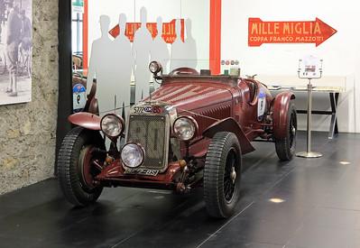 Mille Miglia Museum - Brescia, Itlay