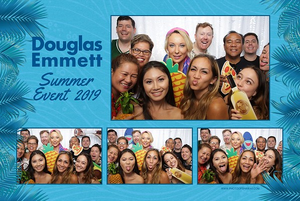 Douglas Emmett Summer Event 2019 (Fusion Photo Booth)