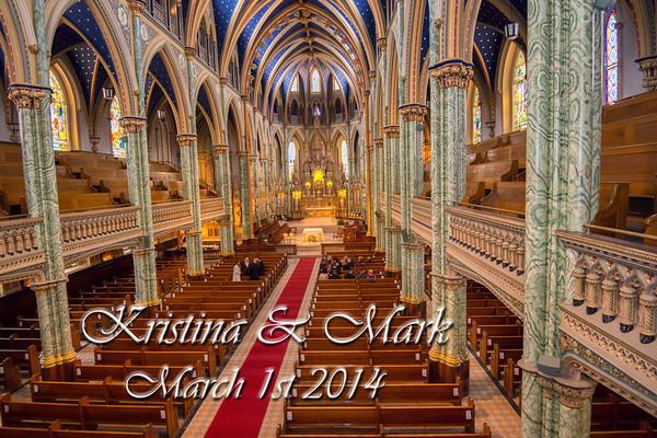 Kristina & Mark Wedding_March 1st_2014