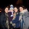 Eirinn Millar enjoying the Christmas Lights Switch on with Cailin Millar, Mary Clarke and Colleen Rocks. R1549016