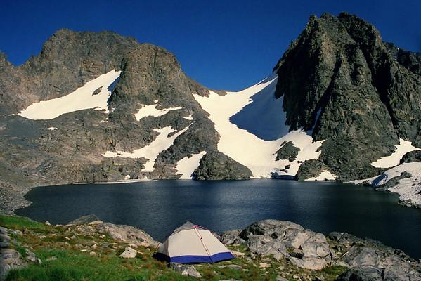Lake Catherine Trip I+ Banner Peak Ascent I via Rush Creek, August 2000