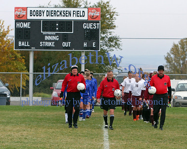 Teton Valley Girls Soccer State 2007 game #1 vs Orofino