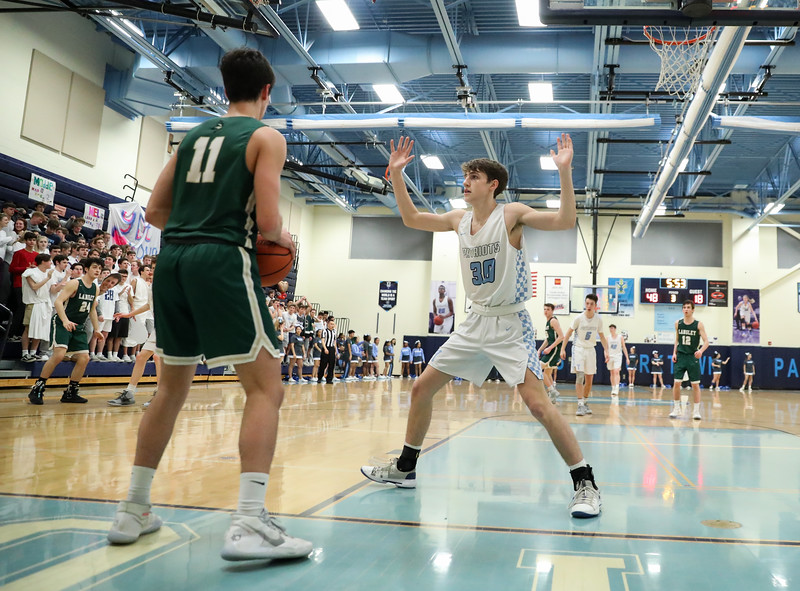 Yorktown Boys Basketball Senior Night (11 Feb 2020)
