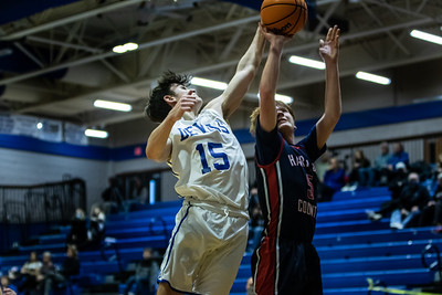 2020-21 JV Boys Basketball vs. Haralson County - Photographer - Makenzie Cochran