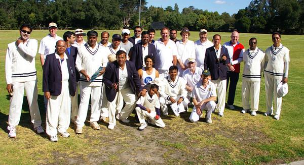 Taverners v Visiting Indian team