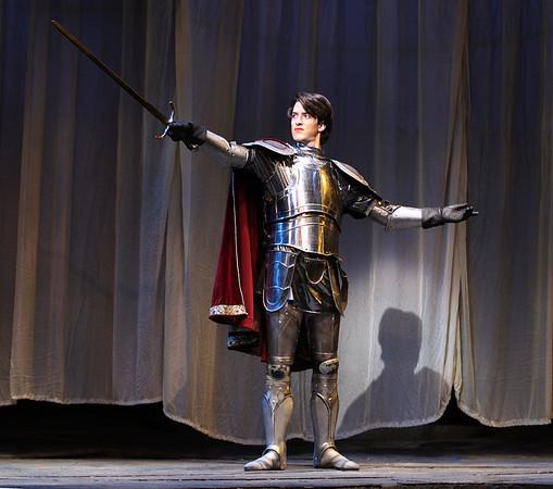 ECU Theater 'Camelot' 2013 photos by Rhett Butler