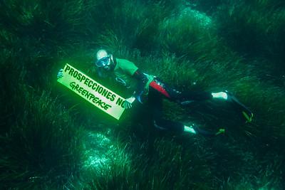 Imágenes submarinas en Ses Salines (Baleares)
