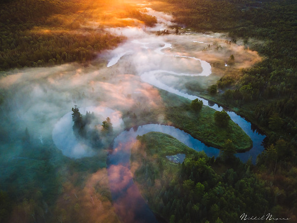Aerial Adirondacks