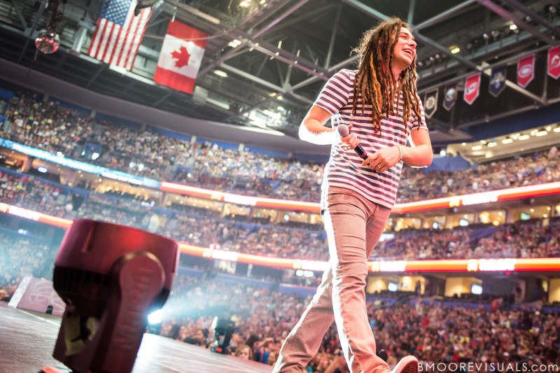 Jason Castro performs on January 12, 2013 during Winter Jam at Tampa Bay Times Forum in Tampa, Florida